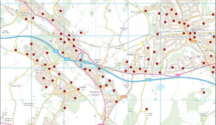 Uk quota random sampling postcodes census geodemographics uk geographics - Random things every house needs ...